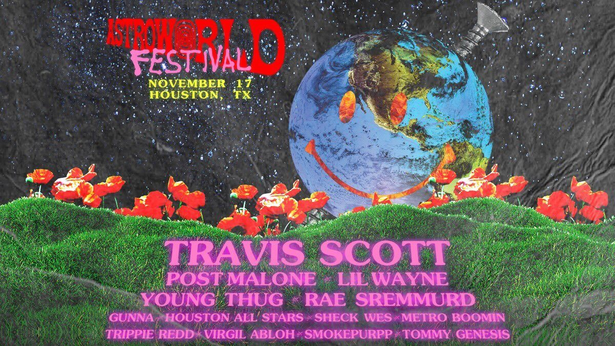 0f39818f The wait is over: Travis Scott's Astroworld Festival lineup...