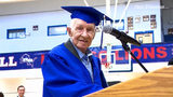 93-year-old veteran gets his diploma