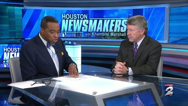 Video Thumbnail For Houston Newsmakers Historic Flood Bond And Next Job Starts In January