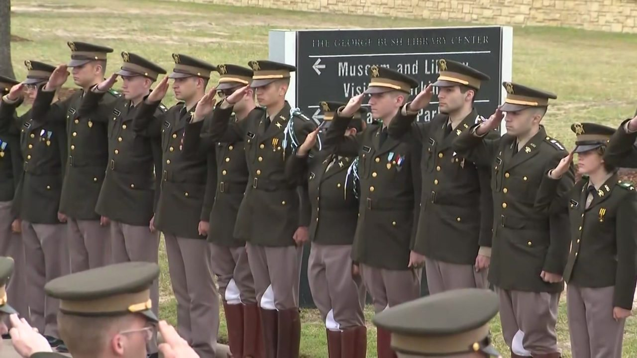 Texas A M Corps Of Cadets To Participate In George H W Bush S