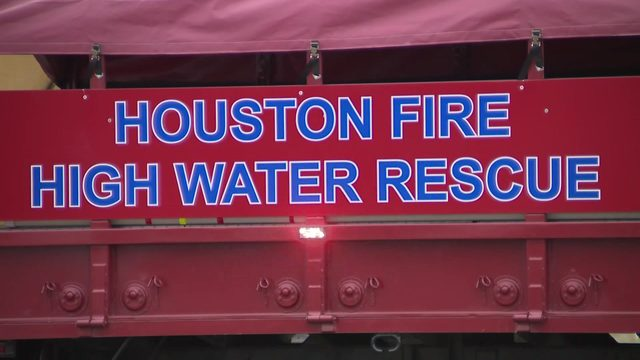 MAP: This is the high-water equipment being kept at Houston fire stations