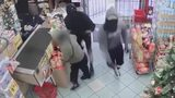 VIDEO: 3 masked robbers held guns to meat market employees' heads