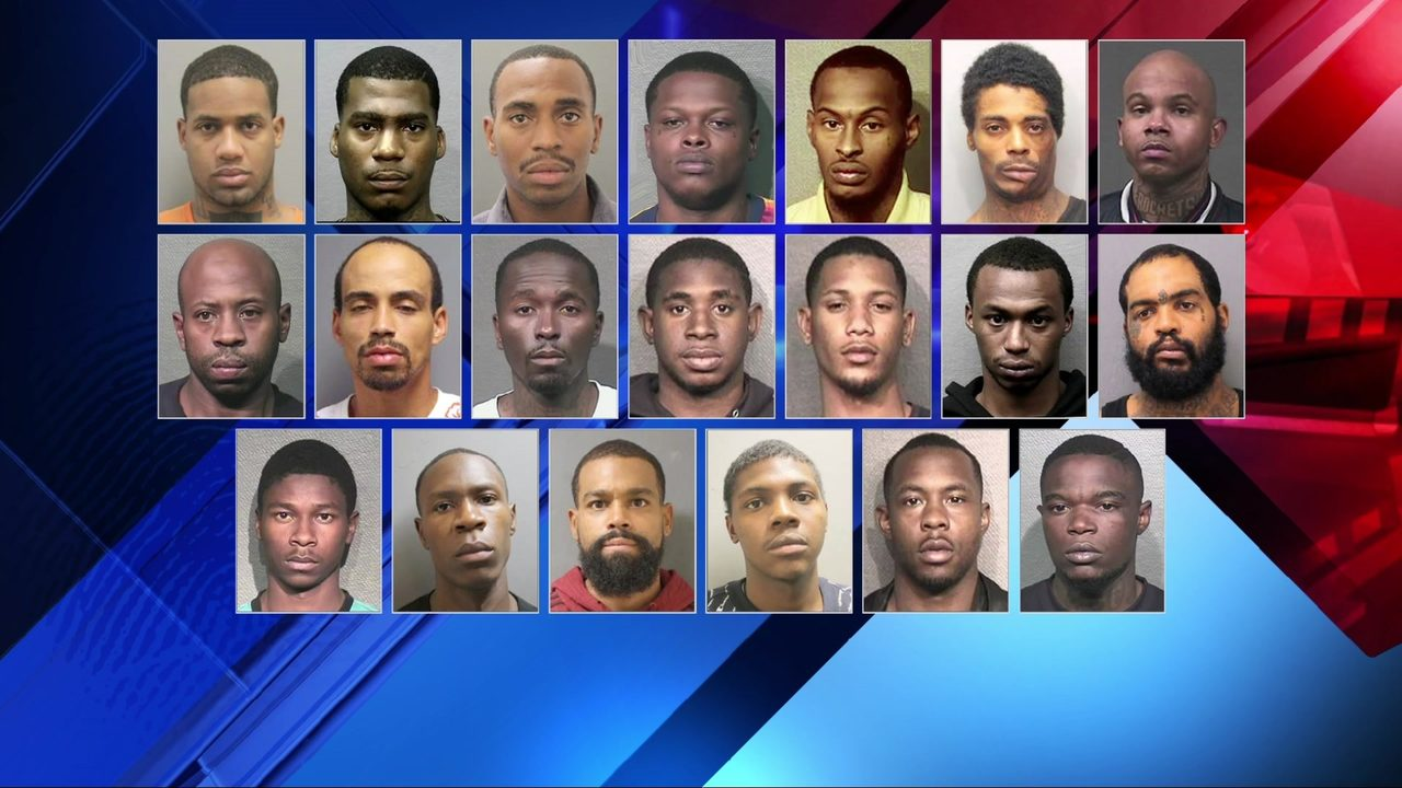 Rap video leads to arrests of 20 accused of illegal weapon