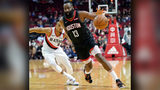 James Harden scores 29 to lead Rockets past Blazers 111-103