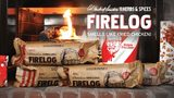 This is the fried chicken-scented fire log you never knew you needed