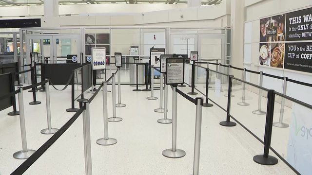 Low water pressure at IAH causing issues for customers