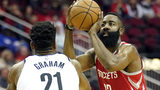 James Harden drops 58 points in Rockets' OT loss to Nets