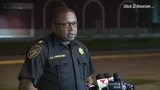 Officials provide updates after shooting at church parking lot