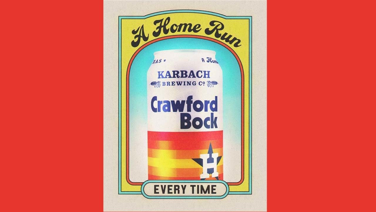 Crawford Bock This Is The Astros Karbach Beer Giving Back
