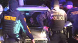 Wild car pursuit across Houston freeway ends in arrest