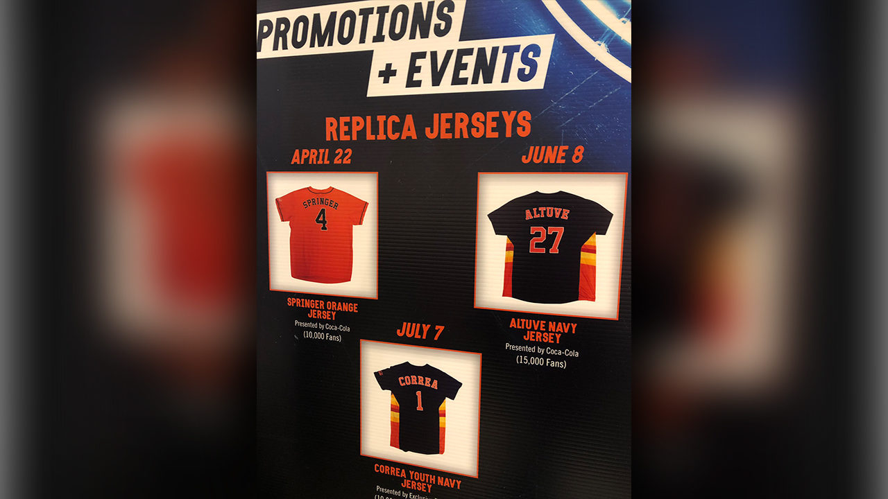 TakeItBack: Here are the Astros giveaways for 2019 season