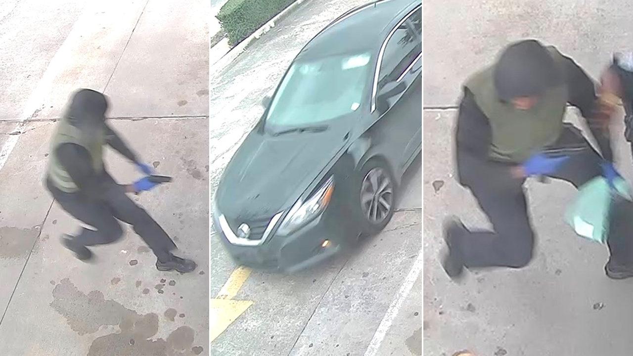 Masked Man Robs Armored Car Guard At Gunpoint