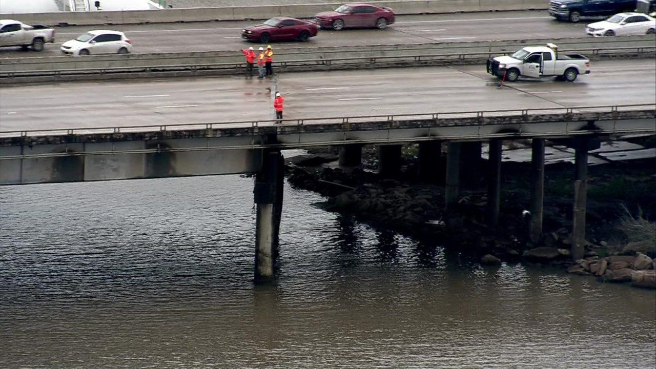 Barge accident causing traffic nightmare on I-10 bridge