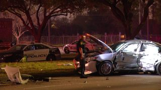 Woman, 70, killed, another injured in 2-vehicle crash in southwest Houston