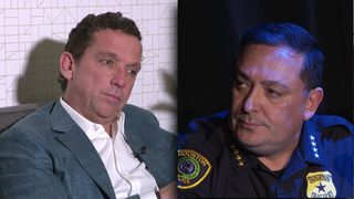 Mayoral candidate Tony Buzbee expands on call for Acevedo's resignation