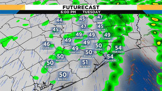 Showers are back: Damp conditions will stick around through afternoon