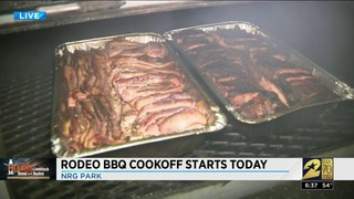 Rodeo BBQ Cookoff starts tonight
