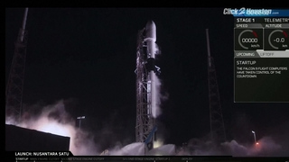 SpaceX launch on Feb. 21, 2019