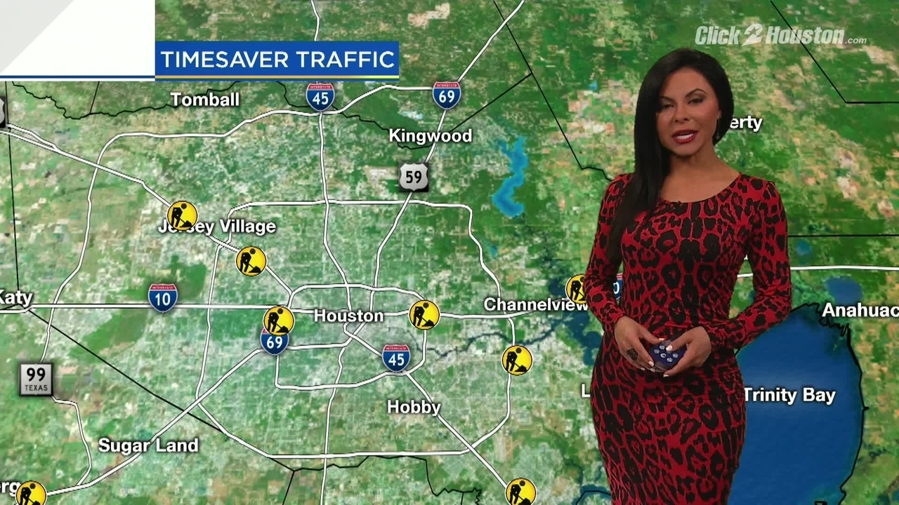 Click 2 Houston Traffic Map.Weekend Traffic Alert For March 1 4