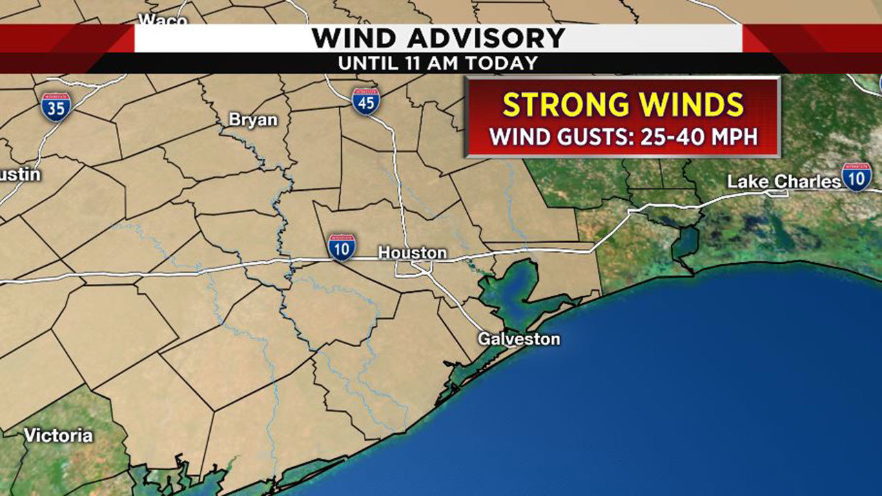 Click 2 Houston Traffic Map.Hold On To Your Hats Windy Stormy Wednesday For Houston