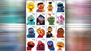 USPS unveils new 2019 stamps, featuring Sesame Street, spooky silhouettes