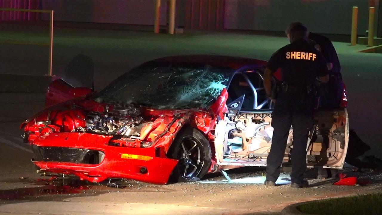 Driver accused of street racing hits pedestrian, leaving victim critically injured, deputies say