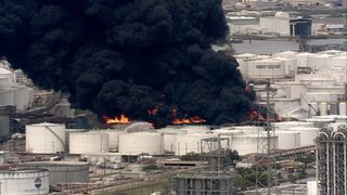 LIVE STREAM: 6 tanks burn at Deer Park chemical facility