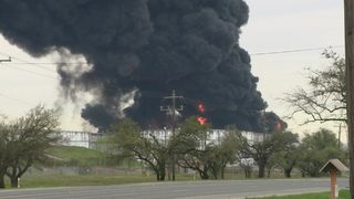 LIVE STREAM: 7 tanks burn at Deer Park chemical plant