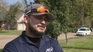Hear from man who made 911 call to report Deer Park chemical fire
