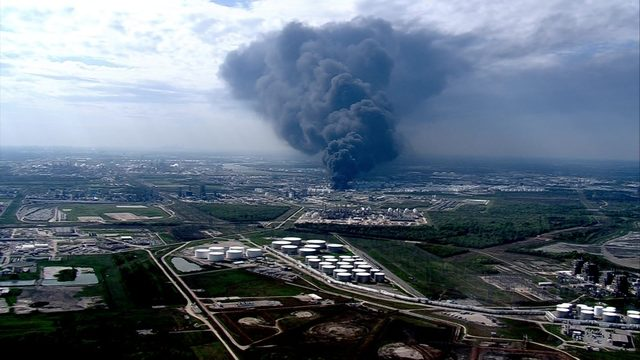 LIVE STREAM: Fire at Deer Park storage facility finally out