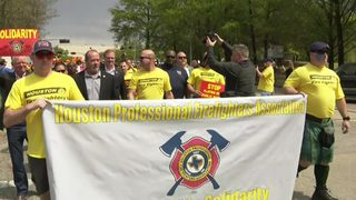 LIVE STREAM: Firefighters march to City Hall, protest after mayor&hellip&#x3b;