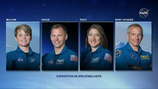 NASA previews 3 spacewalks outside ISS, including first all-female spacewalk