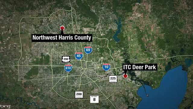 Residents in NW Harris County notice smoke plume from Deer Park fire