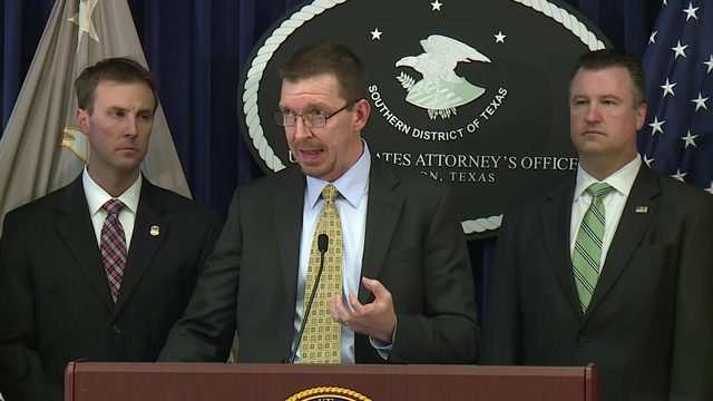 US Attorney's office announces dismantling of 'large' drug trafficking operation