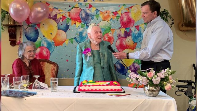 Mary Coffey celebrates 110th birthday in Fort Bend County