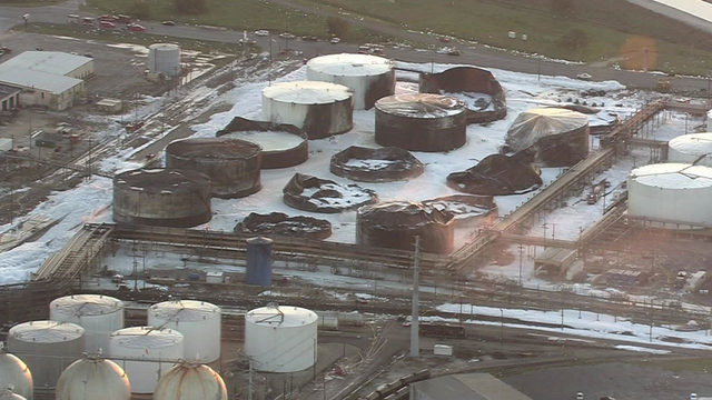 Deer Park chemical facility fire extinguished after burning for days