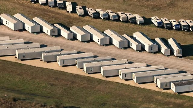 Disaster relief housing units stolen in aftermath of Harvey