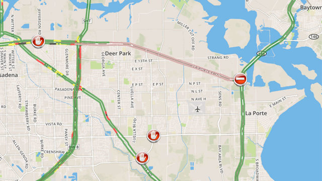 TRAFFIC ALERT: SH 225 closed in Deer Park
