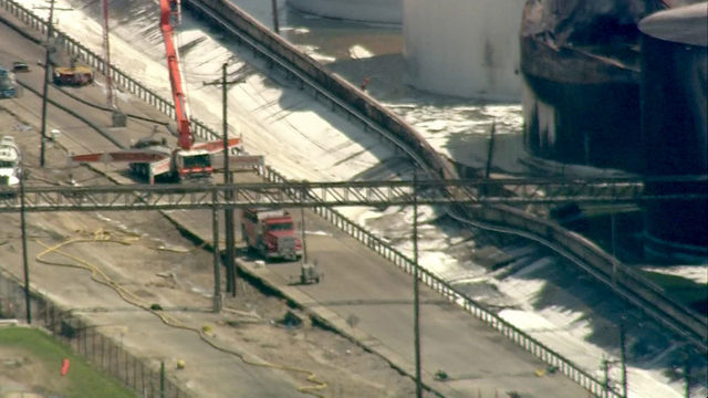 LIVE STREAM: Part of Houston Ship Channel closed after dike wall breach at ITC