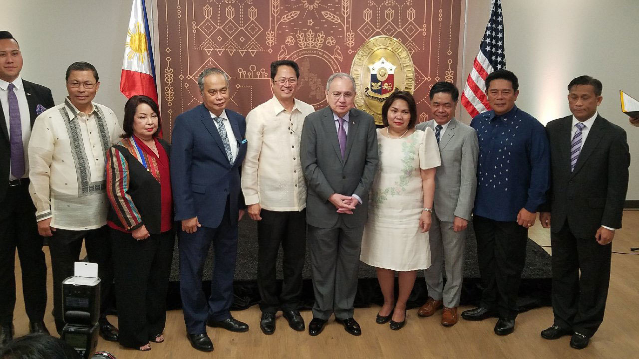 The Philippine Consulate General in Houston reopens for first