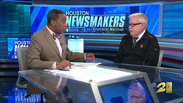 Houston Newsmakers with Khambrel Marshall March 24, 2019