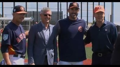 Verlander, Astros announce 2 year extension