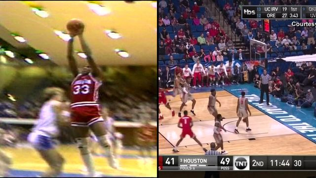 Then and now: UH Sweet 16 Phi Slama Jama lookback
