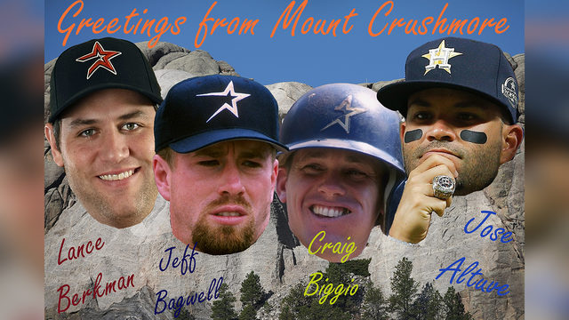 Mount Crushmore: A look at greatest Astros of all time