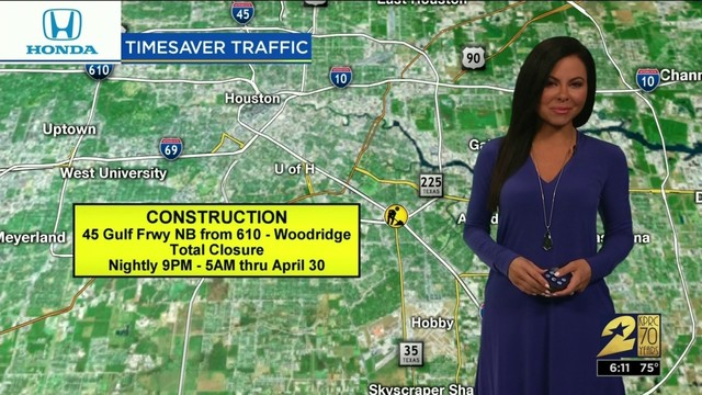 Weekend Traffic Update: May 31-June 2