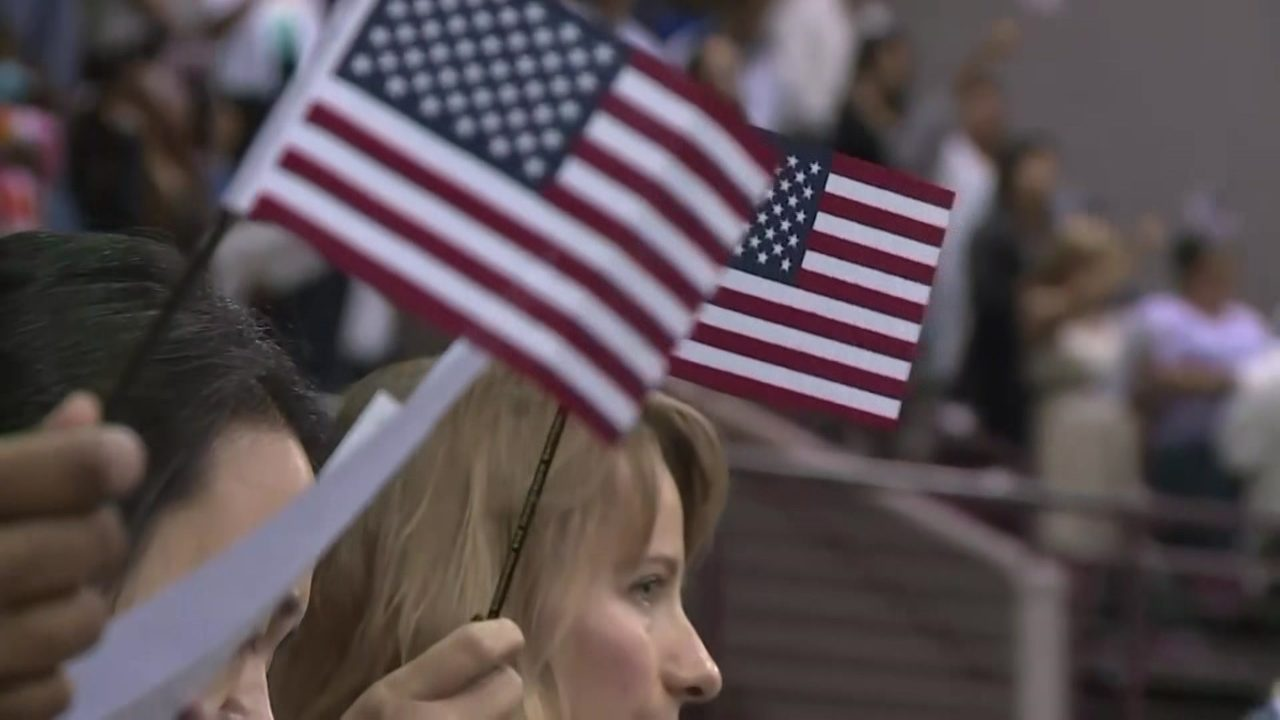 More than an oath: Thousands to become U S  citizens in