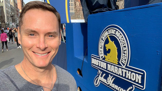 Ryan Korsgard: A look at the Boston Marathon from the course, and a&hellip&#x3b;