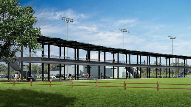 New two-story driving range at Memorial Park to open in fall