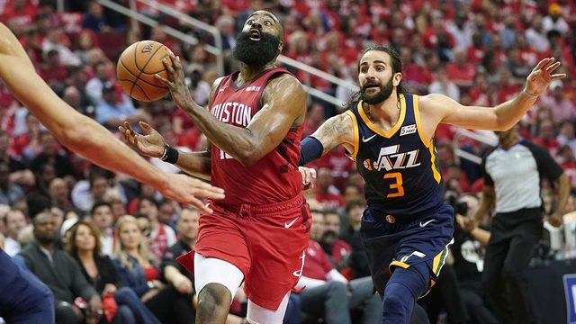 Rockets take on Jazz in Game 3 of first-round playoff series