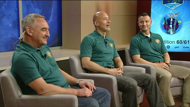 NASA's next ISS crew discusses upcoming mission